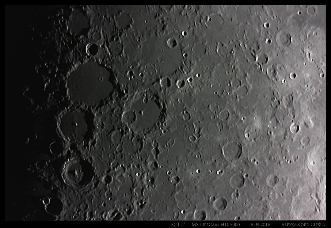 Księżyc 9-09-2016