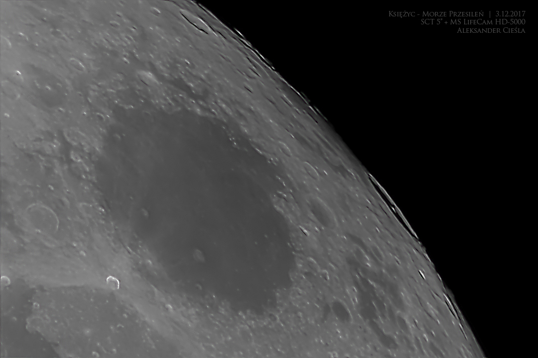 Księżyc – Morze Przesileń